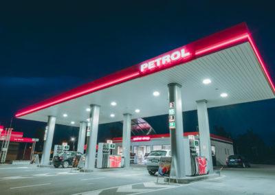 Čerpací stanice Petrol Černošice